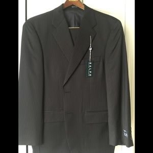 Men's Ralph Lauren Navy pinstripe 2piece suit.NWT